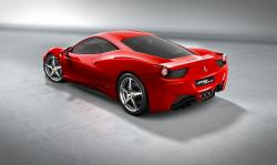 A cool Ferrari 458 Italia as a homage for Niki Lauda