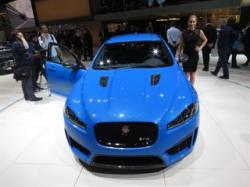 Jaguar shows off the XFR-S Sportbrake at Geneva Auto Show