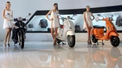 Piaggio S unveiled at the Auto Expo 2014