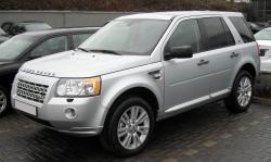 Spy pictures of the Land Rover Freelander from Sweden circulated on the internet