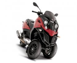 The Gilera FUOCO 3-wheel Scooter Motorbike is here