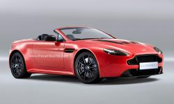 Zip Ahead With the Latest Aston Martin Model V12 Vantage Roadster