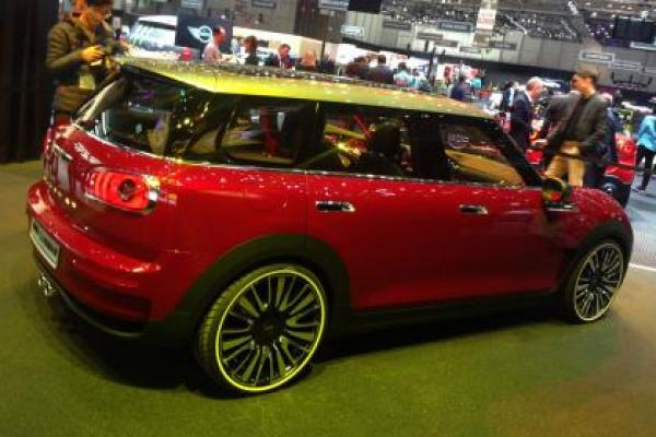 A 6-door Mini Clubman Concept is about to see the auto market
