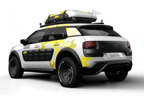 Citroen has Got Unveiled the C4 Cactus Aventure Concept