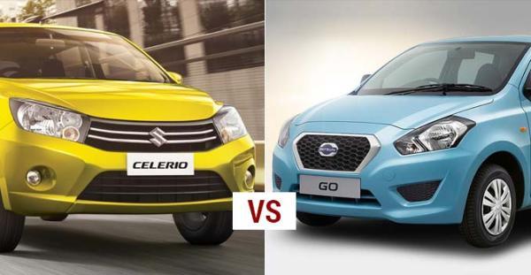Comparison: Maruti Suzuki Celerio V/s Datsun Go