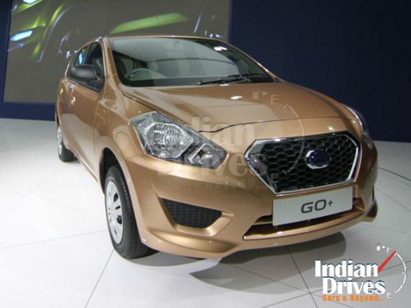 Datsun GO+ MPV is ready for a Test Drive