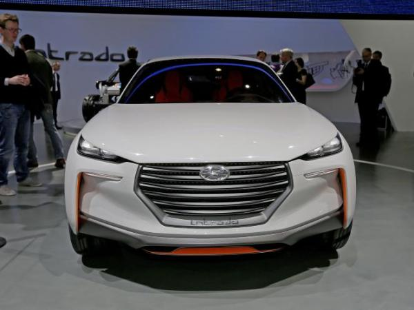 Intrado concept to be shown by Hyundai at Geneva Auto Show 2014