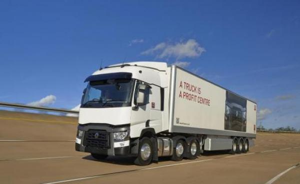 Iveco Stralis Hi-Way in the Brian Yeardley Continental fleet for Europe