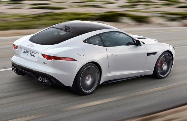 Jaguar Land Rover unveils F-Type coupe at 2014