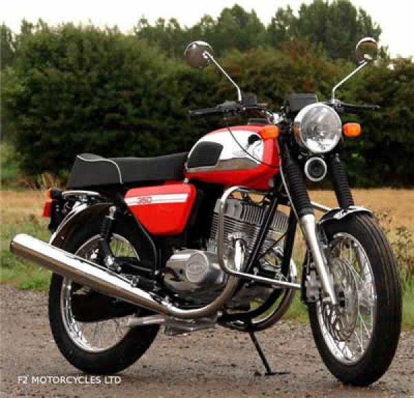 Jawa 350 with Retro styling is back with a bang