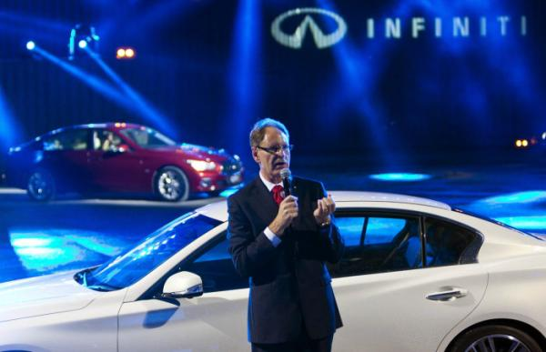 Launch of Infiniti Q50 in Hong Kong