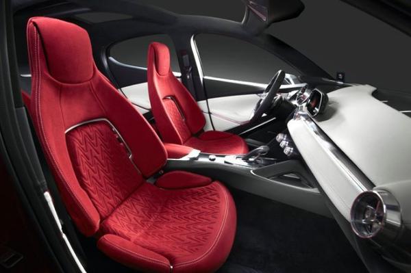 Mazda Hazumi Concept Car teaser appears in advance
