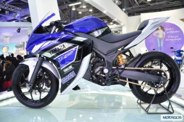 New 2014 Yamaha YZF R15 V3.0 Showcased For The Indian Debut