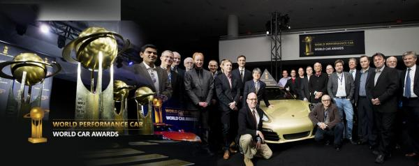 Performance Award for the Porsche 911 GT3