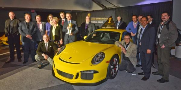 Performance Award for the Porsche 911 GT3