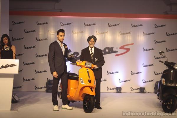 Piaggio Launching the new Vespa S in India