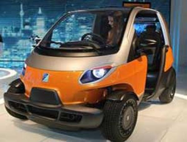 Piaggio's small car NT3 sets the competition with Tata Nano at the Auto Expo