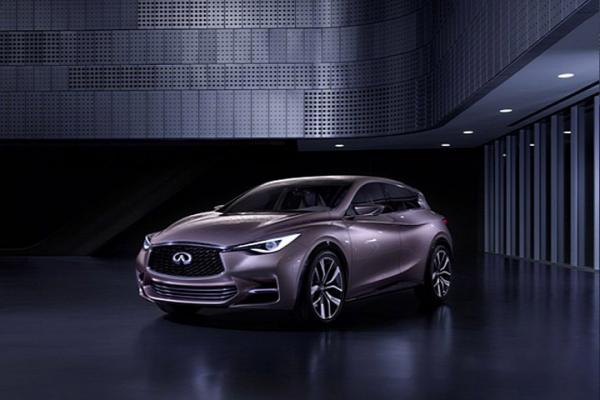 QX30 small crossover of Infiniti confirmed for production