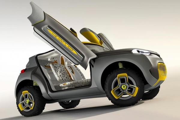 Renault reveals a city car, the Kwid SUV concept