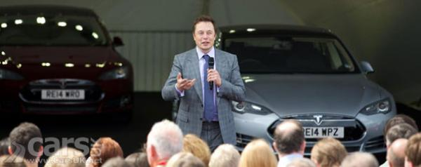 Tesla Launches Model S In The UK