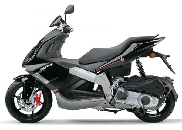 The All-New Derbi GP-1 250 Scooter is there on Road