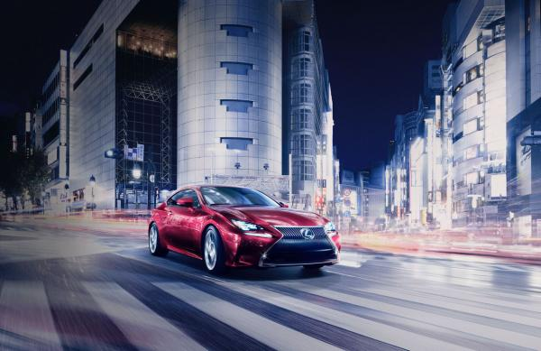 The First Impressions of Lexus RC from Tokyo
