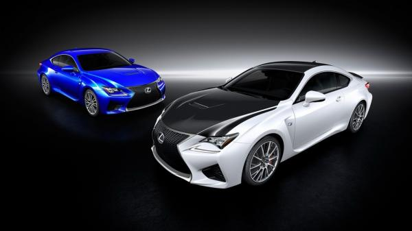 The Lexus' New RC F is in the Scene Now