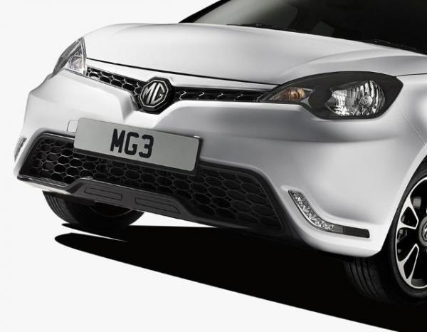 The New European MG3 Getting Unveiled in the Shanghai Motor Show