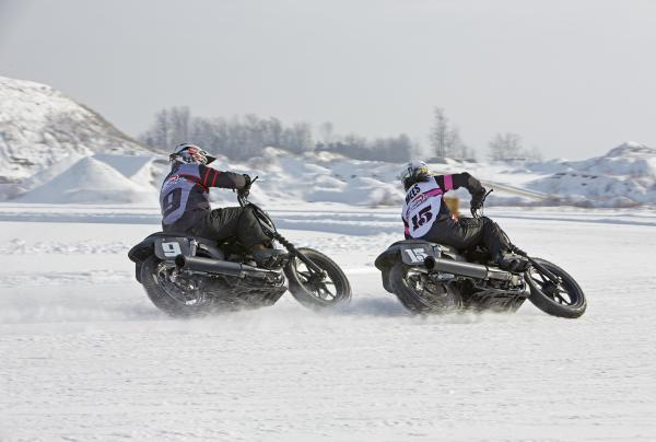 The New Harley-Davidson Street Hits Ice at X Games Aspen
