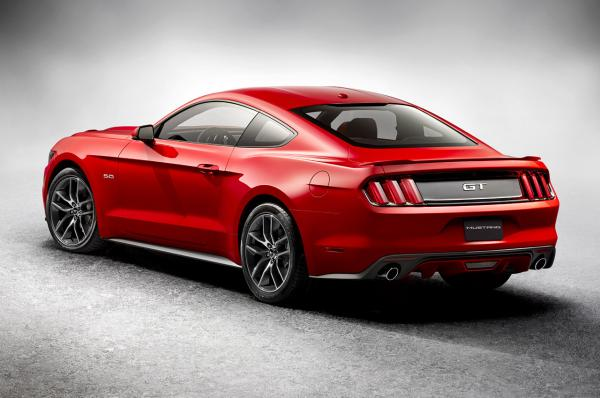 The wait is over, the new 2015 Ford Mustang is here