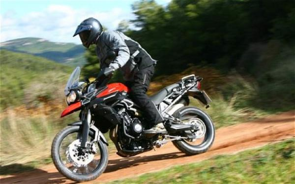 Triumph 800 XC for Next Gen Riders