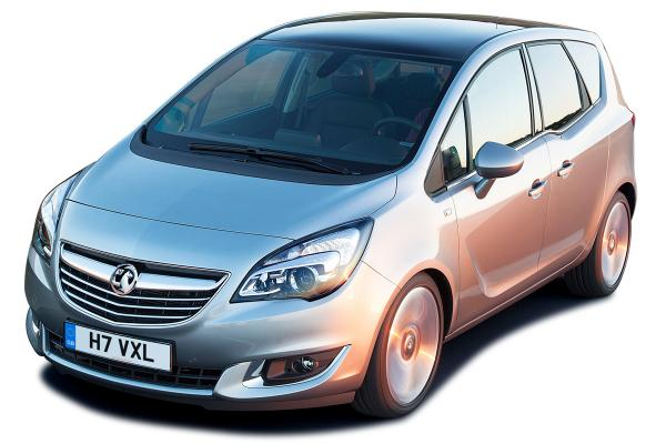 Vauxhall introduces the new diesel Meriva