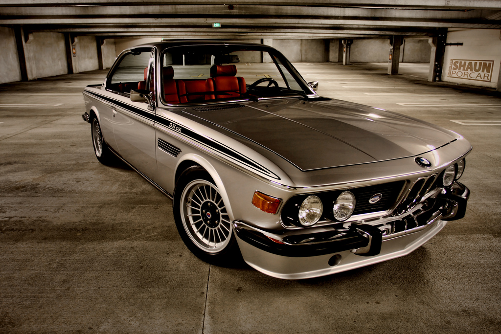 BMW E9  Review and photos