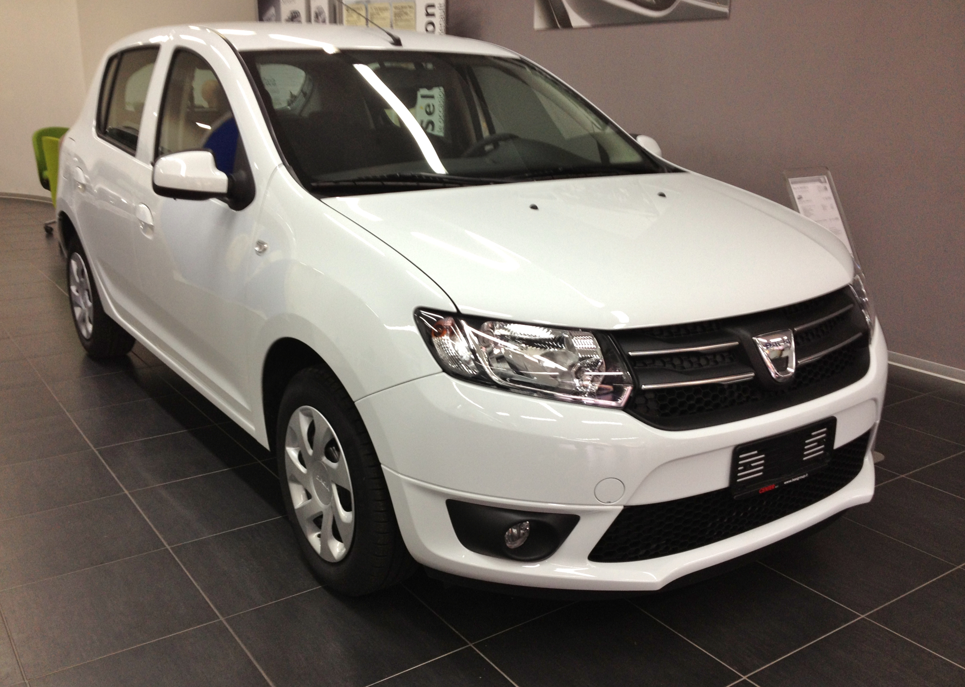 dacia sandero review and photos. Black Bedroom Furniture Sets. Home Design Ideas