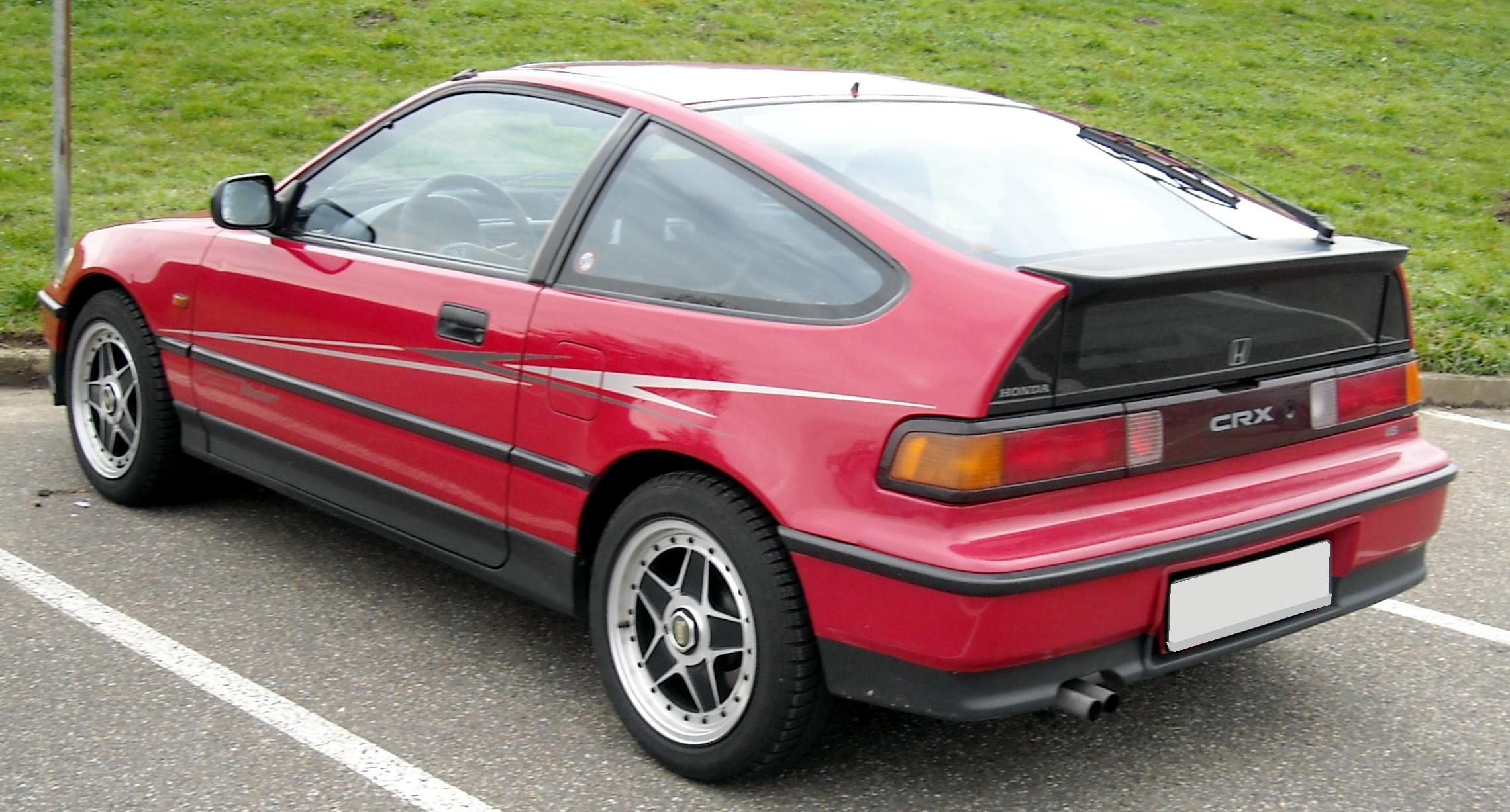 Honda Cr X >> Honda CR-X