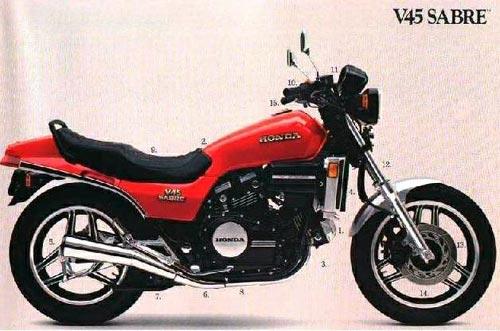 Honda Sabre V4