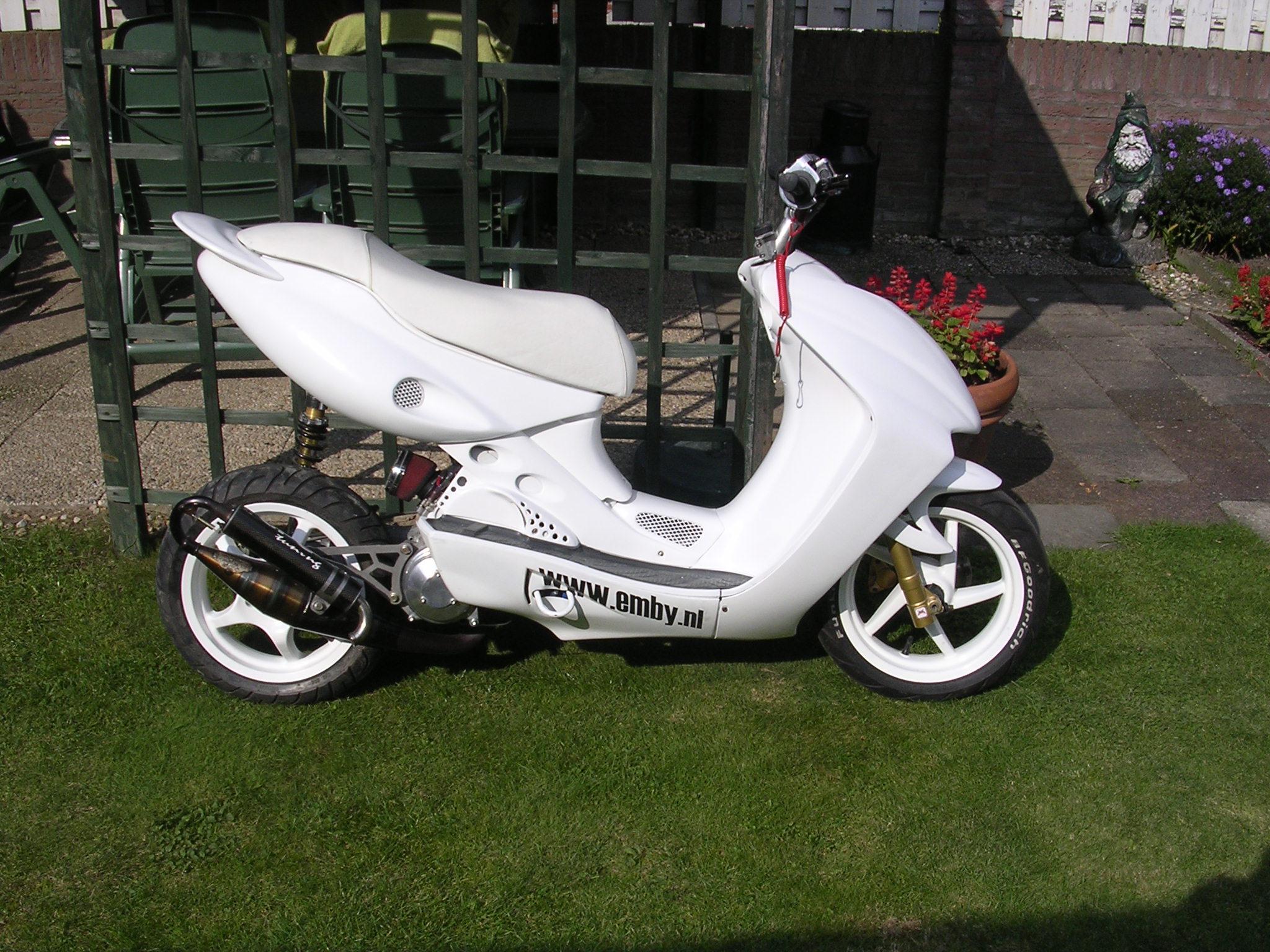 Yamaha Aerox Engine