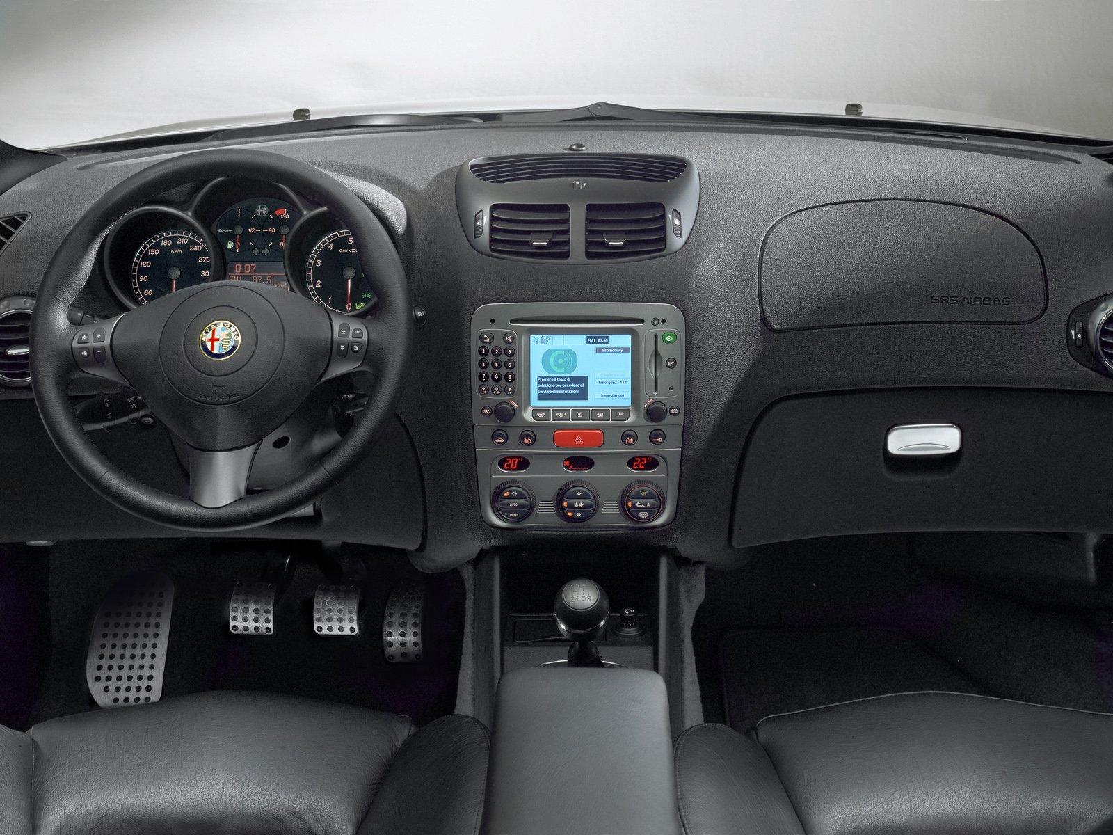 Alfa Romeo 147 Review And Photos Interior 16 Blue