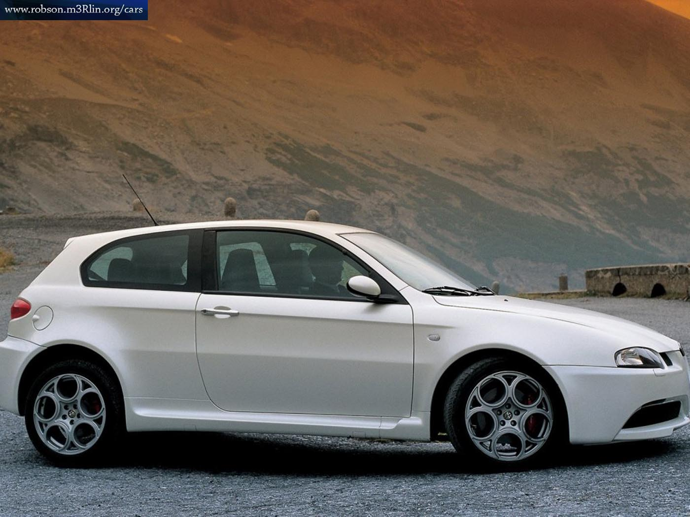 alfa romeo 147 white - photo #7