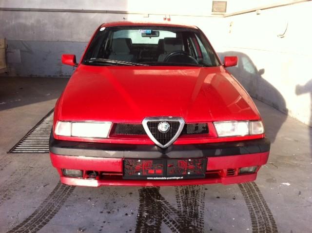 ALFA ROMEO 155 2.5 red