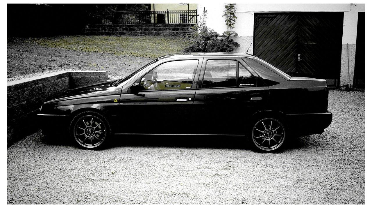 ALFA ROMEO 155 black