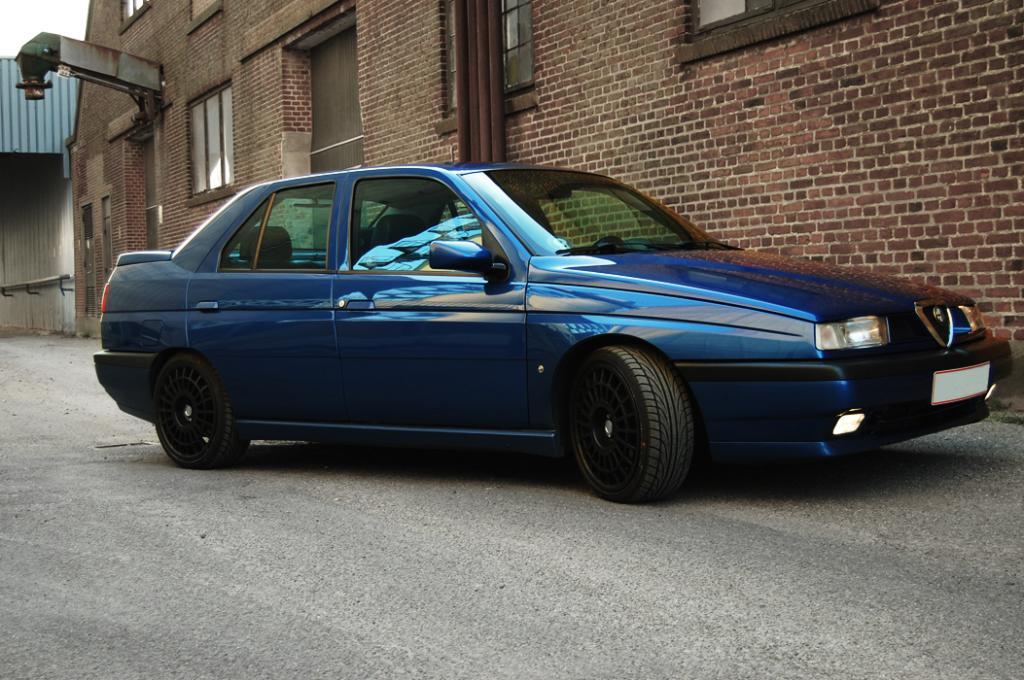 ALFA ROMEO 155 blue