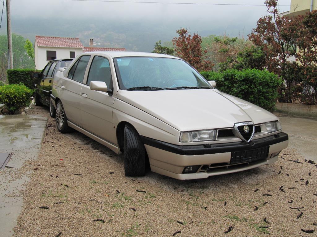 ALFA ROMEO 155 silver