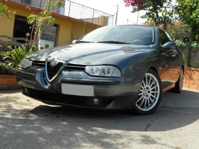 ALFA ROMEO 156 green