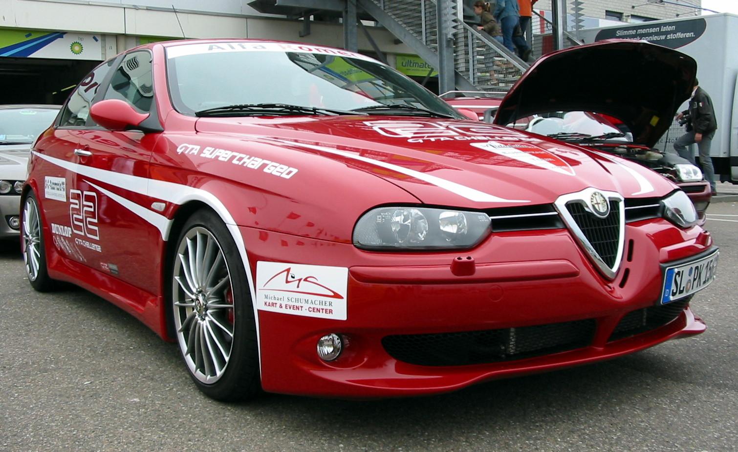 alfa romeo wallpaper (Alfa Romeo 156)