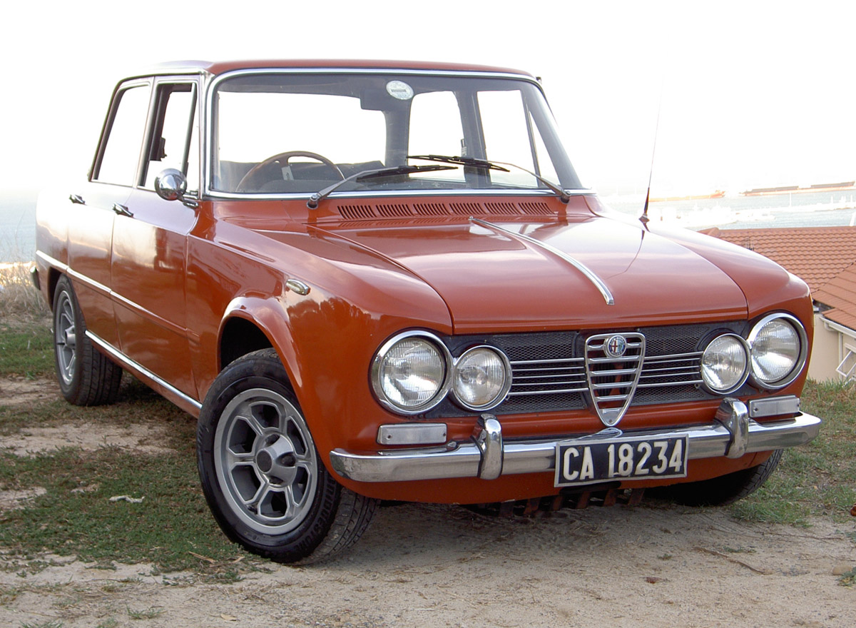 ALFA ROMEO GIULIA 1300 SUPER engine