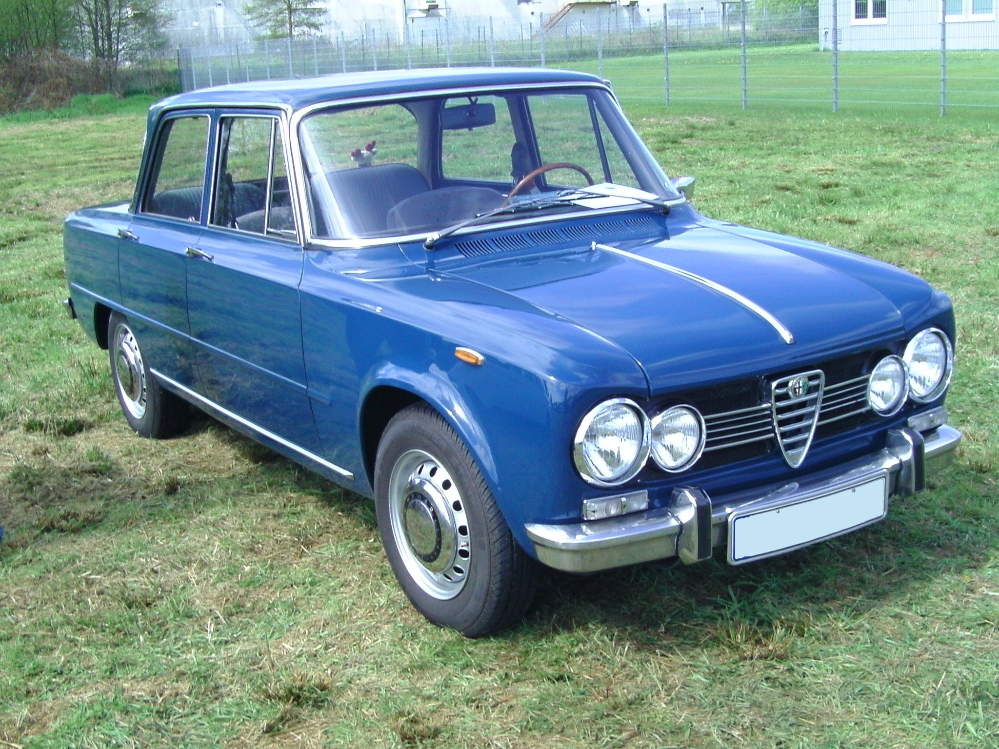 ALFA ROMEO GIULIA blue