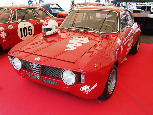 ALFA ROMEO GTA 1300 JUNIOR red