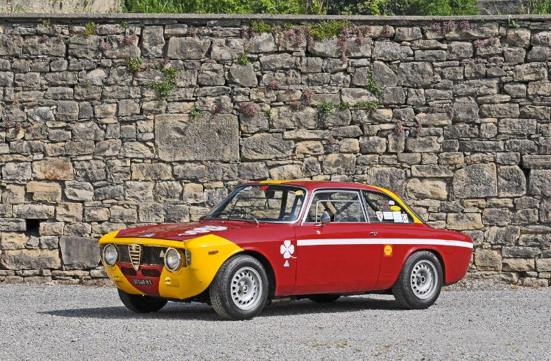 ALFA ROMEO GTA 1300 JUNIOR silver