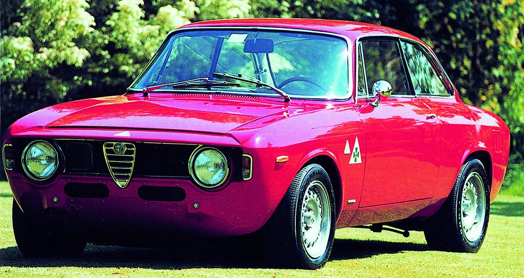 ALFA ROMEO GTA brown